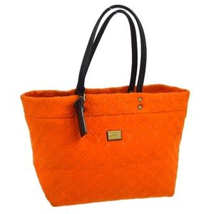 Louis Vuitton Orange Monogram Scuba Neverfull